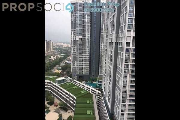 For Rent Condominium at EcoSky, Jalan Ipoh Freehold Semi Furnished 3R/2B 2.2k