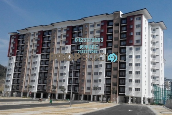 For Sale Apartment at Seri Jati Apartment, Setia Alam Freehold Unfurnished 3R/2B 300k