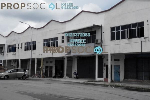 For Rent Factory at Taman Meru, Klang Freehold Unfurnished 0R/2B 1.5k