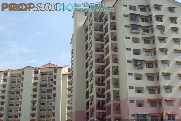 For Sale Apartment at Menara Kuda Lari, Georgetown Freehold Semi Furnished 3R/2B 450k