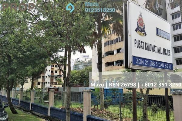 For Sale Apartment at PKNS Apartment, Kelana Jaya Freehold Semi Furnished 2R/1B 200k