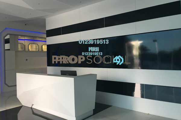 For Sale Office at The Cube, Bandar Puteri Puchong Freehold Semi Furnished 20R/6B 14.8m