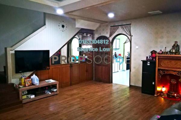 For Sale Terrace at Taman Wawasan, Pusat Bandar Puchong Freehold Semi Furnished 4R/3B 725k