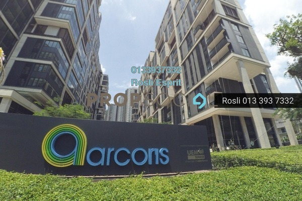 For Rent SoHo/Studio at Arcoris, Mont Kiara Freehold Fully Furnished 1R/1B 2.2k
