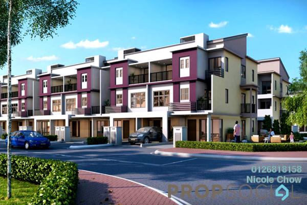 For Sale Townhouse at Bandar Puteri Bangi, Kajang Freehold Unfurnished 3R/3B 468k