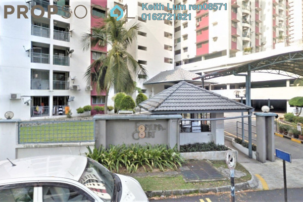 For Sale Condominium at Fortuna Court, Old Klang Road Leasehold Semi Furnished 3R/2B 355k