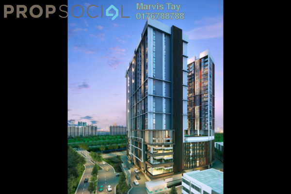 For Sale Serviced Residence at AraTre' Residences, Ara Damansara Freehold Unfurnished 2R/2B 595k