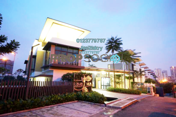For Sale Villa at Laman Vila, Segambut Freehold Semi Furnished 8R/8B 4m