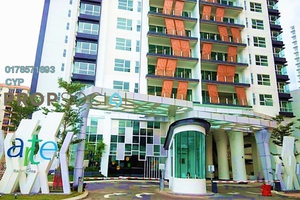 For Rent Condominium at Arte KL, Kuchai Lama Freehold Fully Furnished 3R/2B 2k