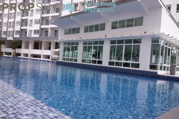 For Rent Serviced Residence at Casa Tropika, Puchong Freehold Semi Furnished 3R/2B 1.05k