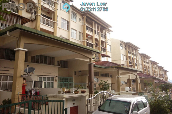For Sale Townhouse at Taman Lagenda Mas, Cheras South Freehold Semi Furnished 3R/2B 400k