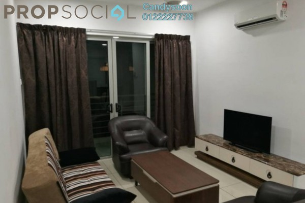For Rent Serviced Residence at One South, Seri Kembangan Freehold Fully Furnished 3R/2B 2.4k