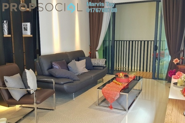 For Sale Serviced Residence at AraTre' Residences, Ara Damansara Leasehold Unfurnished 3R/2B 703k