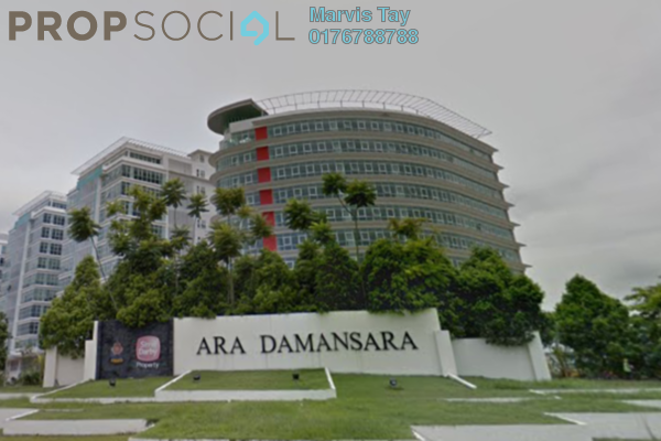 For Sale Serviced Residence at AraTre' Residences, Ara Damansara Leasehold Unfurnished 3R/2B 727k