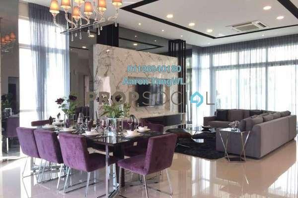 For Sale Semi-Detached at The Rafflesia, Damansara Perdana Freehold Semi Furnished 5R/6B 3.8m