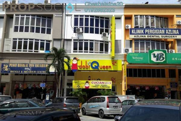 For Rent Office at Medan Idaman Business Centre, Setapak Freehold Unfurnished 1R/2B 1.7k
