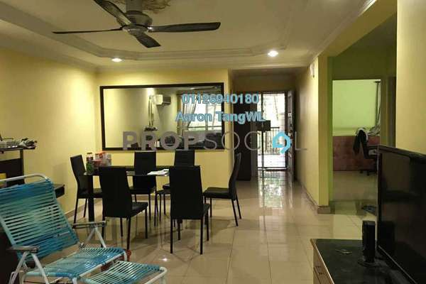 For Sale Condominium at Paradesa Rustica, Bandar Sri Damansara Freehold Semi Furnished 3R/2B 460k