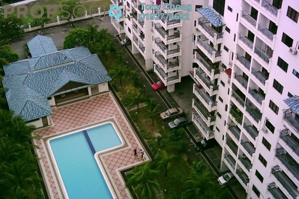 For Rent Condominium at The Chancellor, Ampang Freehold Semi Furnished 3R/2B 1.5k