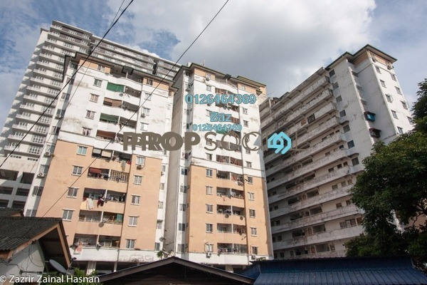 For Sale Apartment at Melati Impian, Gombak Freehold Semi Furnished 3R/2B 300k