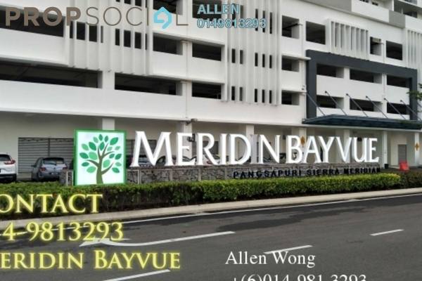 For Rent Condominium at Meridin Bayvue , Masai Freehold Fully Furnished 3R/2B 1.5k