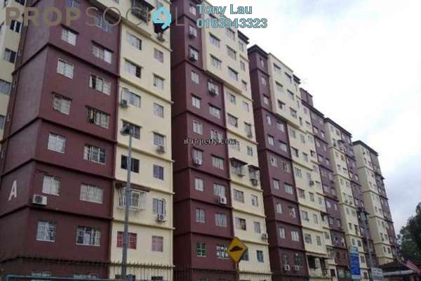 For Rent Apartment at Cemara Apartment, Bandar Sri Permaisuri Freehold Unfurnished 3R/2B 1.1k