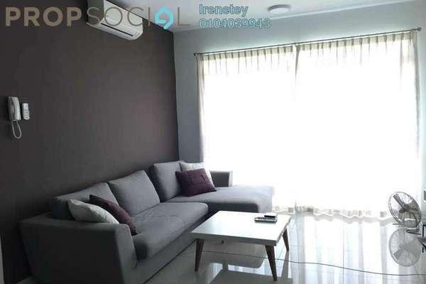For Rent Condominium at Kiara Residence, Bukit Jalil Freehold Semi Furnished 3R/2B 2.6k