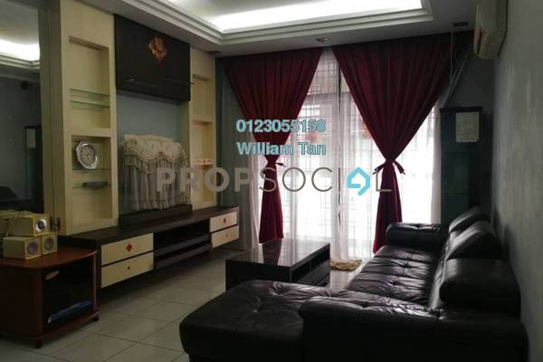 For Rent Condominium at Diamond Residences, Setapak Freehold Fully Furnished 4R/2B 1.7k
