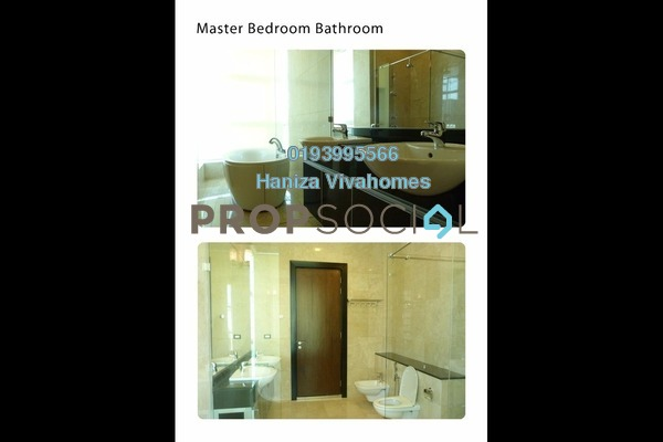 For Rent Condominium at The Pearl, KLCC Freehold Fully Furnished 4R/5B 7k