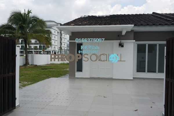 For Sale Terrace at Taman Sri Andalas, Klang Freehold Unfurnished 4R/2B 508k
