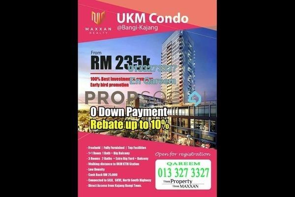 For Sale Condominium at Bangi Avenue, Kajang Freehold Unfurnished 0R/0B 235k