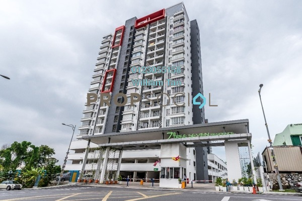 For Rent Condominium at 7 Tree Seven Residence, Bandar Sungai Long Freehold Unfurnished 4R/2B 1k