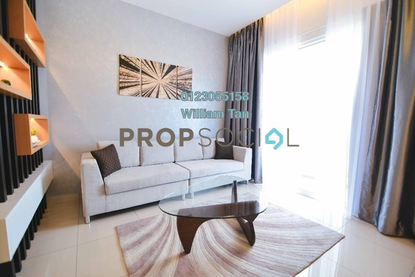 For Sale Condominium at 7 Tree Seven Residence, Bandar Sungai Long Freehold Fully Furnished 4R/2B 520k