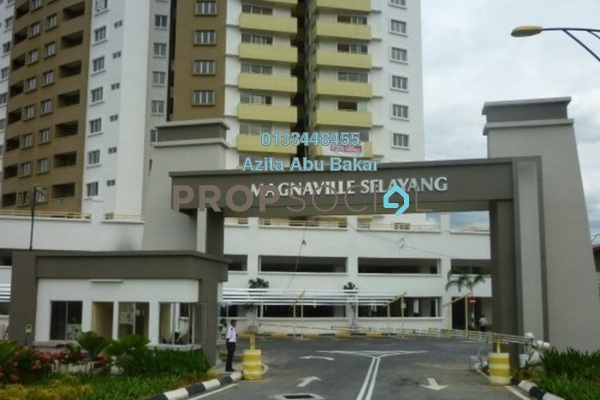 For Rent Condominium at Magna Ville, Selayang Freehold Semi Furnished 3R/2B 1.2k