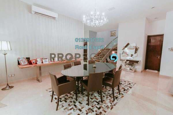 For Sale Bungalow at The Residence, Mont Kiara Freehold Fully Furnished 6R/6B 10.9m