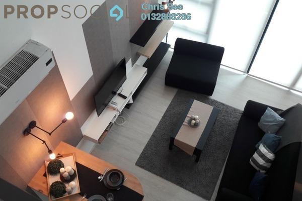 For Rent Duplex at One City, UEP Subang Jaya Freehold Fully Furnished 1R/1B 1.6k