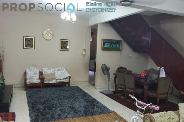 For Sale Terrace at Taman Len Sen, Cheras Freehold Semi Furnished 4R/3B 630k