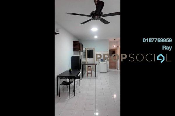 For Rent Apartment at Cemara Apartment, Bandar Sri Permaisuri Freehold Semi Furnished 3R/2B 1.35k