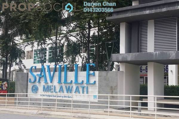 For Rent Condominium at Saville, Melawati Freehold Unfurnished 3R/2B 1.6k