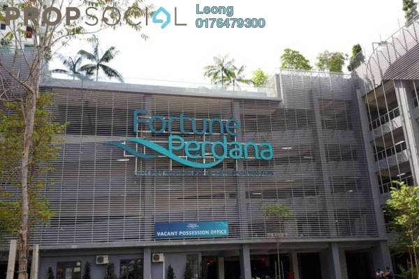 For Rent Serviced Residence at Fortune Perdana Lakeside, Kepong Freehold Semi Furnished 3R/2B 1.6k