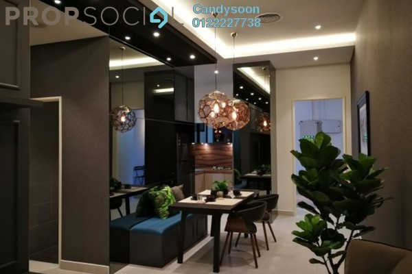 For Sale Serviced Residence at Majestic Maxim, Cheras Freehold Semi Furnished 2R/2B 299k