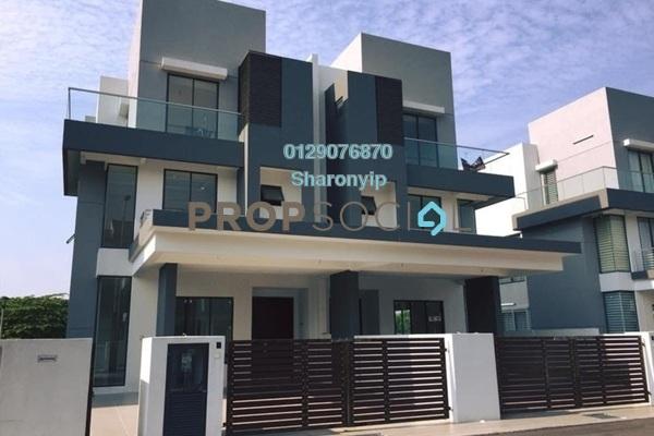 For Sale Semi-Detached at Section 3, Bandar Mahkota Cheras Freehold Unfurnished 6R/7B 130k