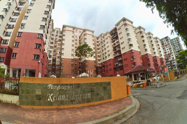 For Sale Apartment at Kelana Impian, Kelana Jaya Freehold Unfurnished 3R/2B 478k