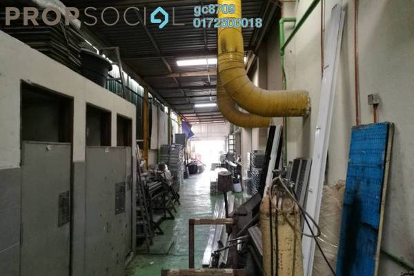 For Sale Factory at Taman Sri Sinar, Segambut Leasehold Fully Furnished 0R/0B 9m