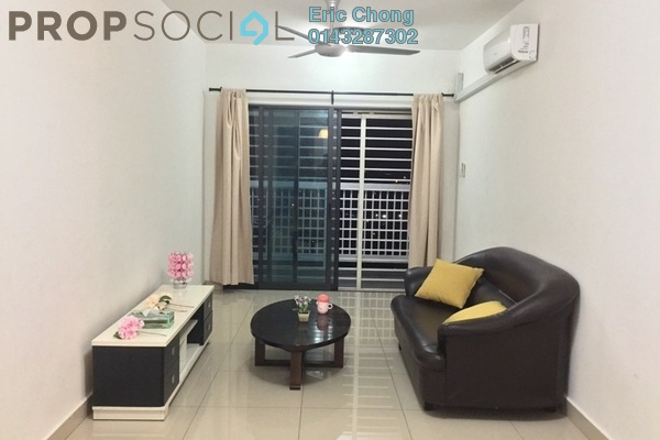 For Rent Condominium at Alam Sanjung, Shah Alam Freehold Fully Furnished 3R/2B 1.5k