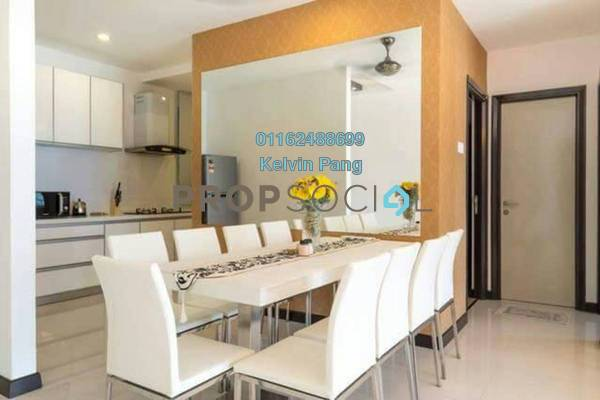 For Rent Condominium at Vertiq, Gelugor Freehold Fully Furnished 4R/3B 3k