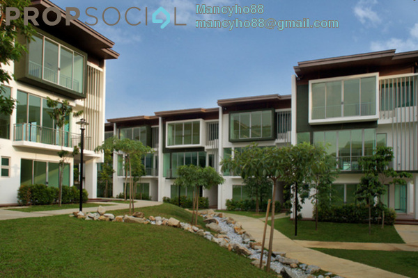 For Sale Terrace at Symphony Hills, Cyberjaya Freehold Semi Furnished 4R/4B 1.15m