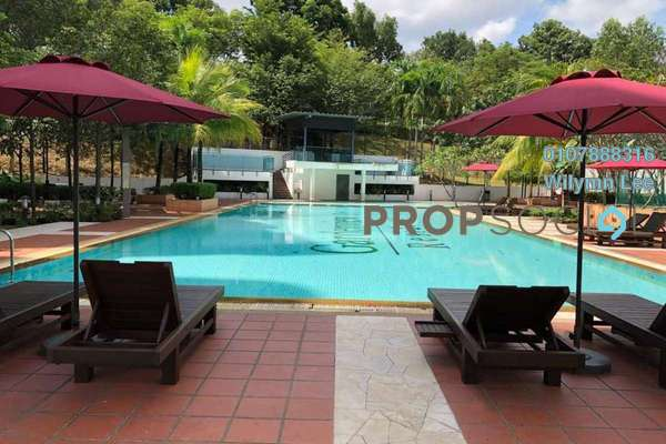 For Rent Condominium at Gardenview Residence, Cyberjaya Freehold Fully Furnished 3R/3B 2.8k