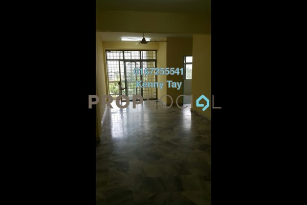 For Sale Condominium at Greenview Apartment, Kepong Freehold Semi Furnished 3R/2B 200k