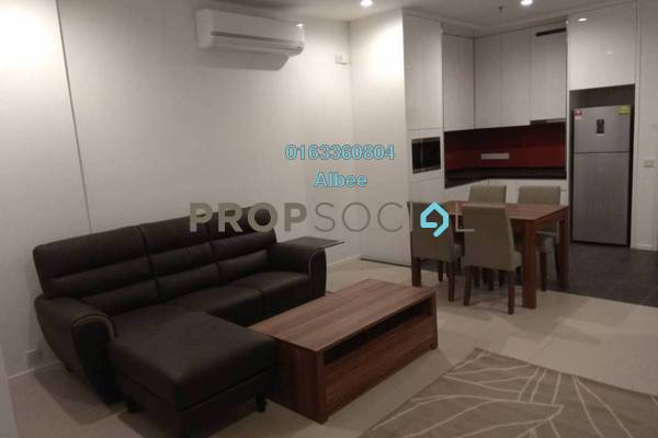 For Rent Condominium at Arcoris, Mont Kiara Freehold Fully Furnished 1R/1B 2.9k