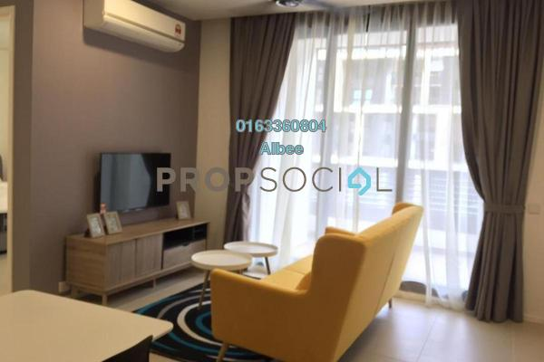 For Rent Condominium at Arcoris, Mont Kiara Freehold Fully Furnished 1R/1B 3.3k